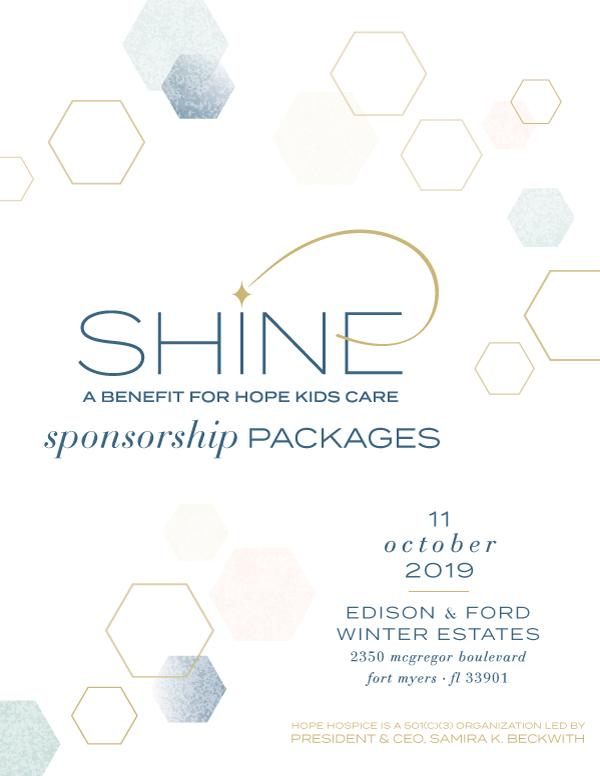 SHINE Sponsors